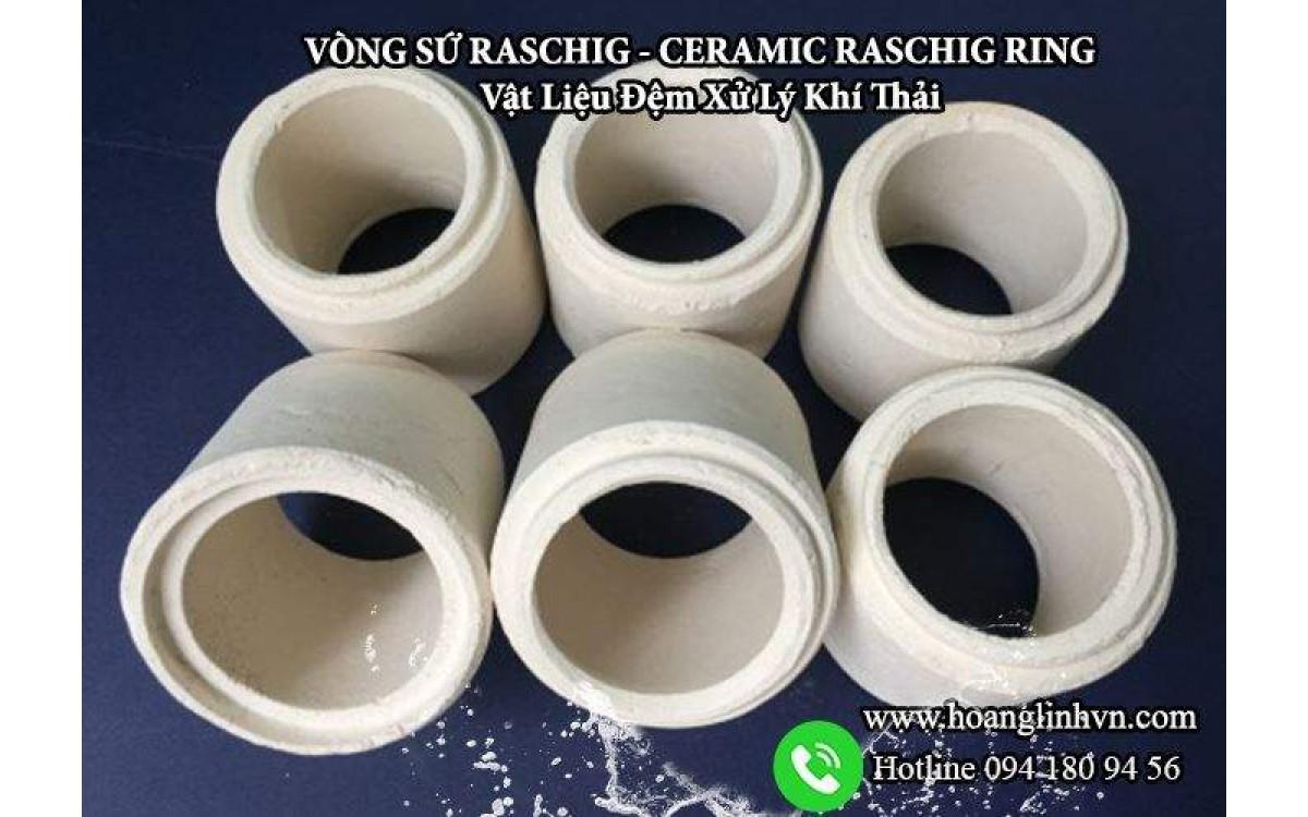 Vòng sứ khí thải công nghiệp cần có xử lý khí thải với vòng sứ Raschig