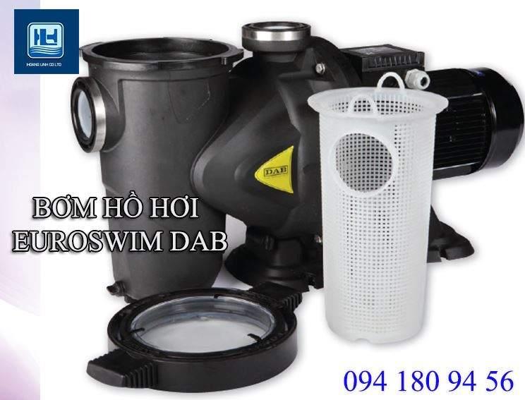 Máy bơm hồ bơi Euroswim thương hiệu DAB với 35 năm hoạt động trên thị trường