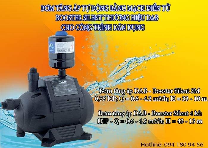 Tiện ích máy bơm tăng áp điện tử cho cung cấp nước sinh hoạt gia đình