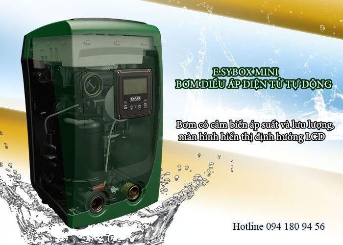 Sử dụng máy bơm tăng áp biến tần tiết kiệm điện nước đến 50%