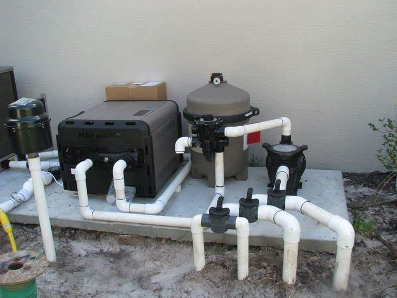 hệ thống máy lọc hồ bơi