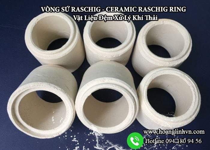 Vòng sứ khí thải công nghiệp cần có với vòng sứ Raschig